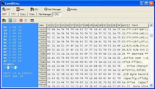 Z80 Emulator